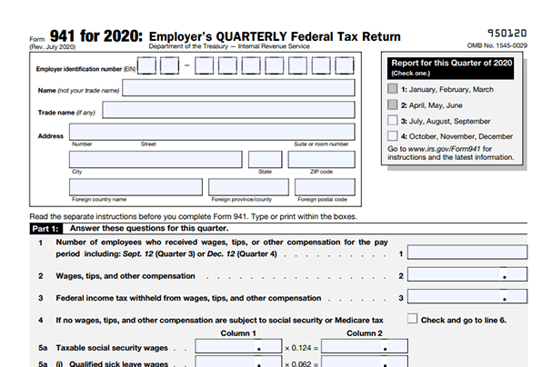 form 941 for 2019  Fillable Form 10 for 10 | Create 10 Form for Free